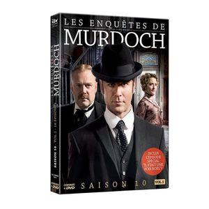 DVD SÉRIE Les Enquêtes de Murdoch - Intégrale saison 10 Vol