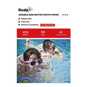PAPIER PHOTO KOALA Papier photo double face mat pour imprimante