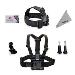 PACK HARNAIS - BANDEAU Rncyn Deyard ZG-730 GoPro Kit d'accessoires Essent