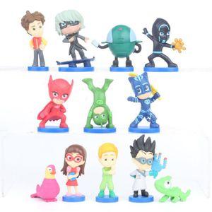 PJ Masques 2 Figurine Play Set avec Accessoire-Enfants Garçons Filles Jouet Age 3+