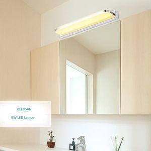 AMPOULE - LED BLEOSAN Lampe Miroir Salle de Bain Blanc Chaud Lam