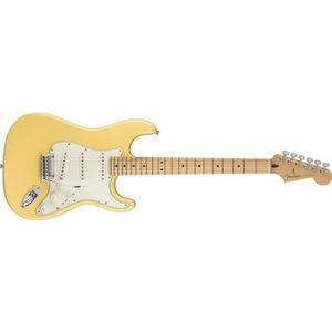 BASSE Fender Player Stratocaster - Manche érable - Butte