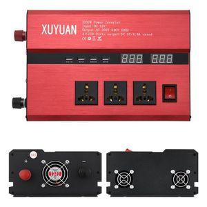 1200W Xuyuan onduleur de Voiture avec /écran LCD Convertisseur 12V 220V