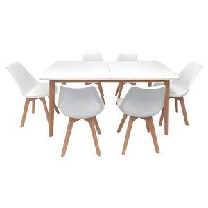 Table et scandinave 6 Table et et chaise scandinave chaise 6 6 Table Xkn0PN8wO