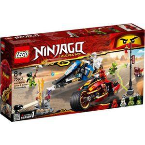 ASSEMBLAGE CONSTRUCTION LEGO® NINJAGO® 70667 - La Moto de Kai et Le Scoote
