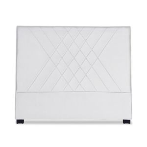TÊTE DE LIT Tête de lit Diam 140cm Simili P.U. Blanc