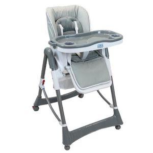 CHAISE HAUTE  Chaise haute bébé/enfant, pliable, réglable hauteu