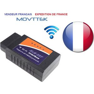 OUTIL DE DIAGNOSTIC INTERFACE DIAGNOSTIQUE Movttek® AUTOMOBILE ELM327