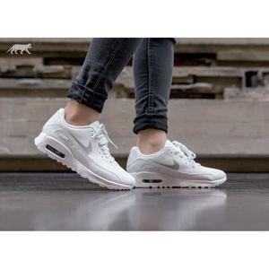 Baskets Nike Air Max 90 Ultra 2.0 Blanc 881106 101. Blanc