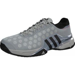 Chaussures ADIDAS Homme Barricade 9 Clay Gris Roland Garros