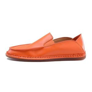 Mocassins Homme Souplesse D'Affaires Chic Absorbeur De Choc éPais Net Orange 39 X77192_BAFFUBDO_S69