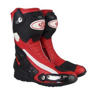 CHAUSSURE - BOTTE Professionnel Chaussures de Moto Adult Homme Prote