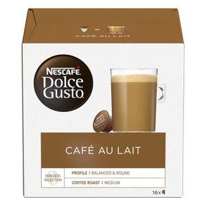 CAFÉ NESCAFE Dolce Gusto Café au lait - 16 Capsules - 1