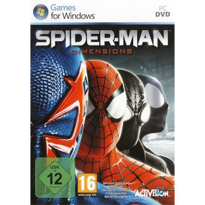 JEU PC SPIDERMAN DIMENSIONS / Jeu PC