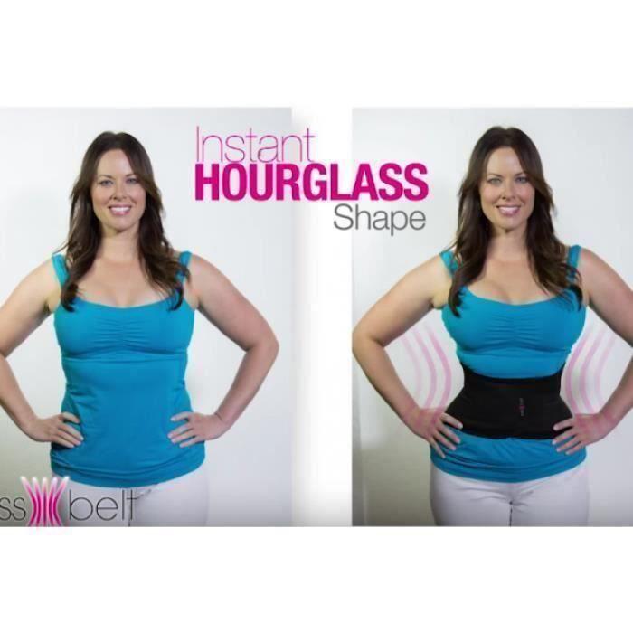BK Miss Belt Ceinture type corset, gaine , ligne amincissante, ventre plat, Taille L-XL 42-46