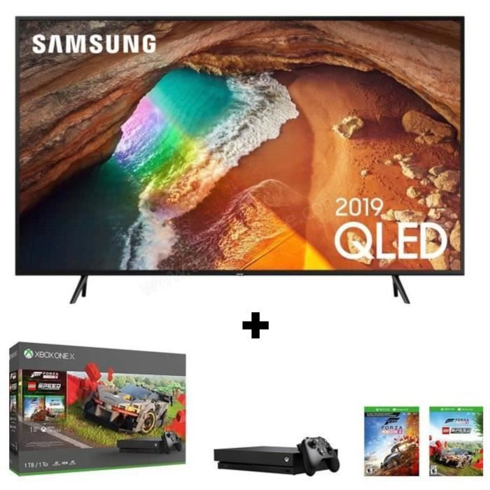 Pack Xbox One X 1 To + TV SAMSUNG QLED 4K UHD 65