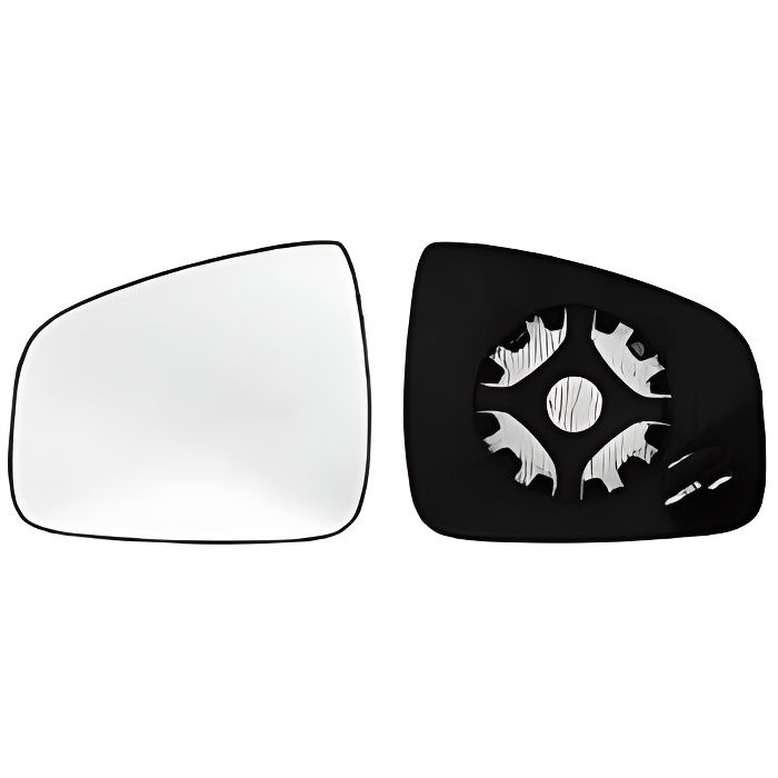 Miroir Glace rétroviseur gauche DACIA DUSTER I phase 2, 2013-2017, dégivrant, à clipser, Neuf.