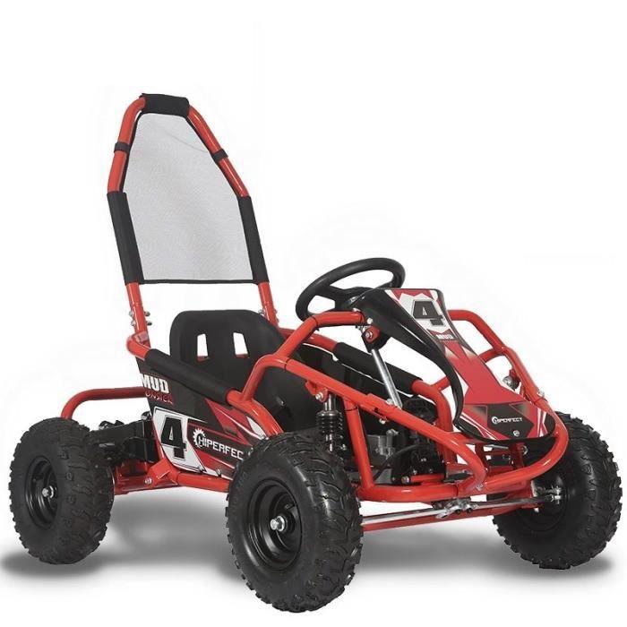 Kart cross électrique 1000W 48V 12Ah Rouge