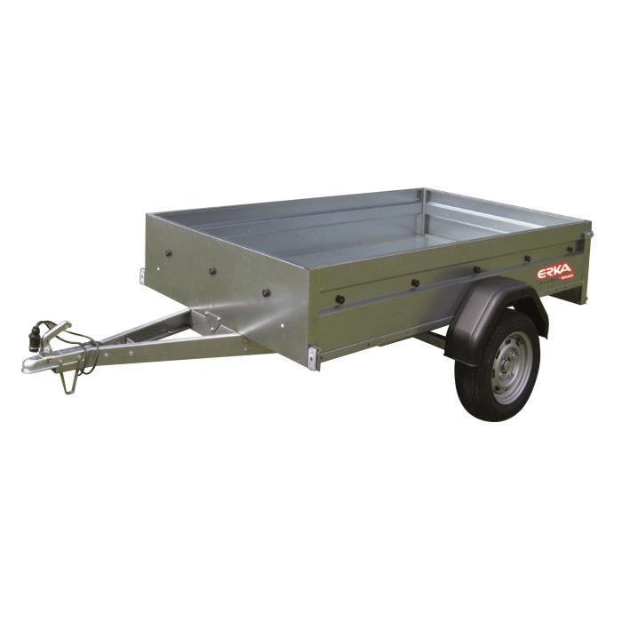 ERKA Remorque NLC 2313 - PTAC 500 kg - CU 333 kg - 230x130x35 cm