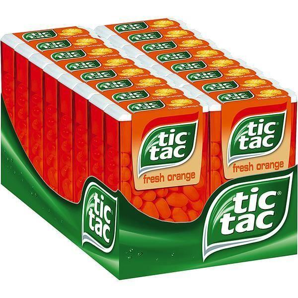 Ferrero Tic Tac Fresh Orange 16 x 49g