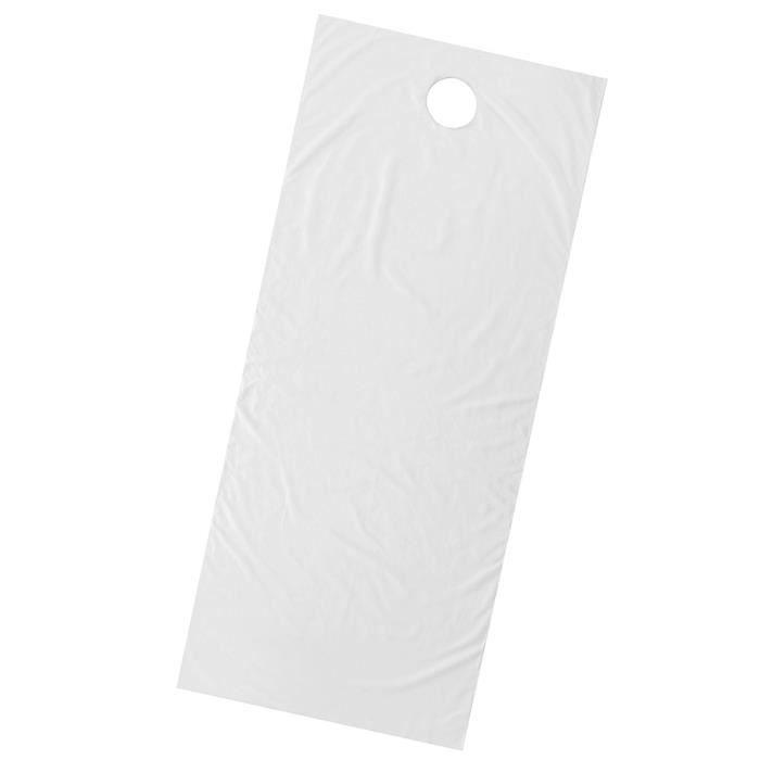 Drap-Housse de Massage Éponge Doux avec Trou Respiration pour Table de Massage / 190x80cm blanc