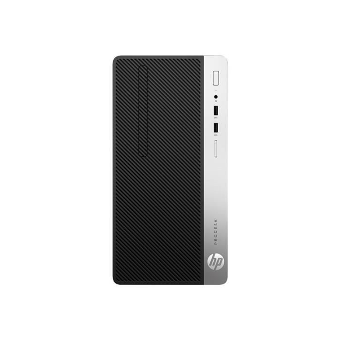 Hp Prodesk 400 G6 micro tour Core i3 9100 3.6 Ghz/4 Go/256 Go