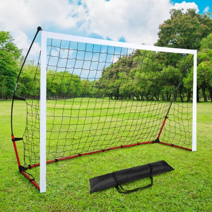 But de foot portable extérieur cage 240 cm et sac de transport