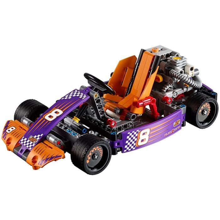Jeu D'Assemblage LEGO KW69T Course Technic Kart 42048 Kit de construction