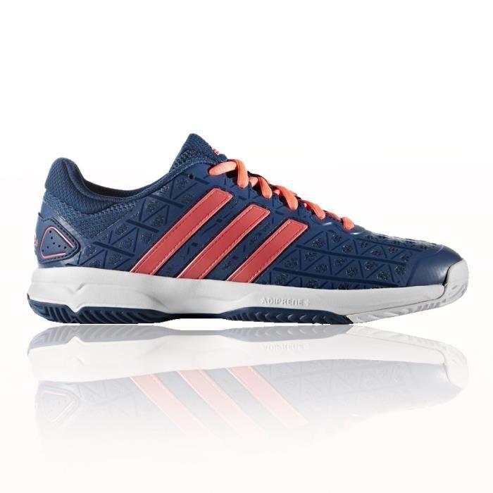 Adidas Barricade Club Xj Enfants Chaussures Sport En Salle Bleu