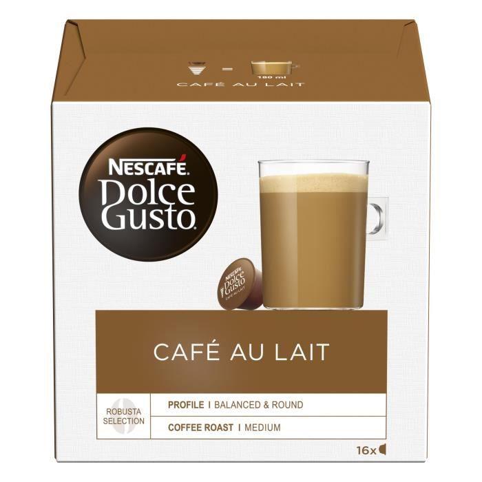 NESCAFE Dolce Gusto Café au lait - 16 Capsules - 160 g