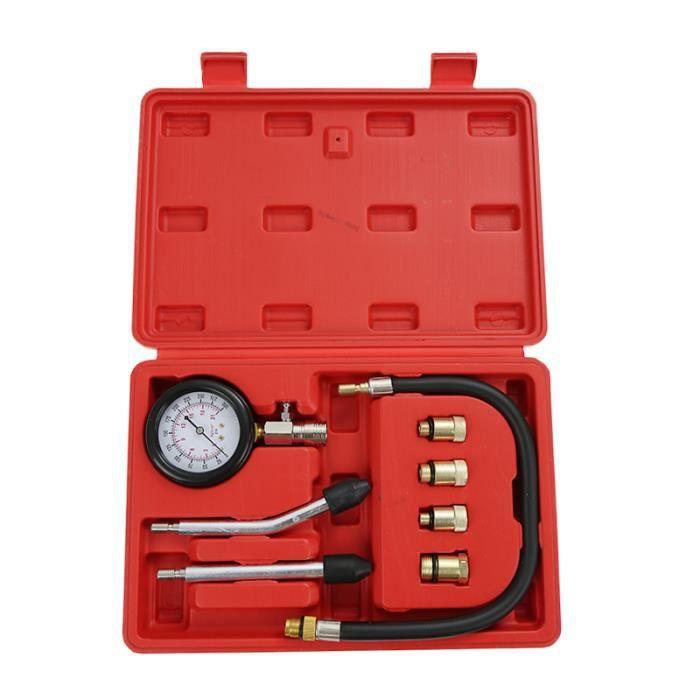 COFFRET OUTILLAGE  8 Pcs de Testeur de Compression Compressiomètre M