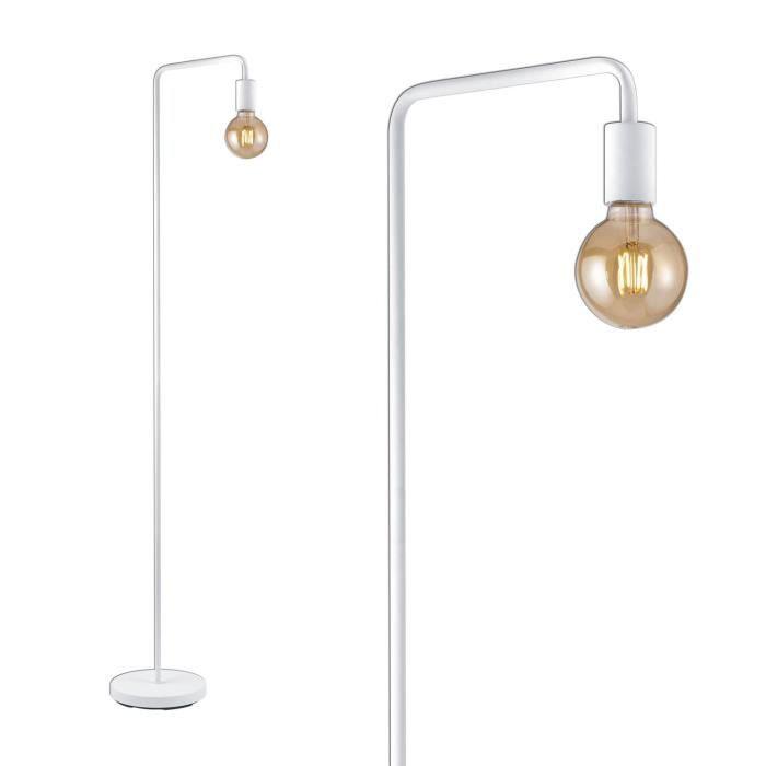 LAMPADAIRE LUZETE - LAMPADAIRE GLADSTONE BLANC Estera Blanca