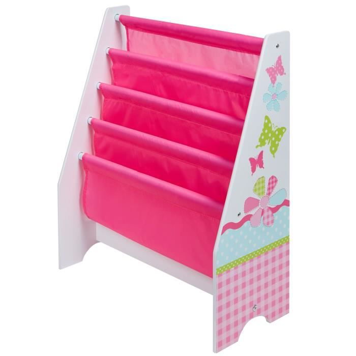 Bibliotheque Enfant Rose Fille Hellohome Worlds Apart