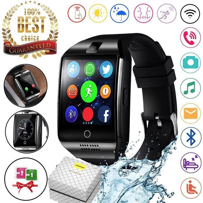 MONTRE CONNECTÉE Meilleur Montre Connectée Bluetooth Smartwatch Mon