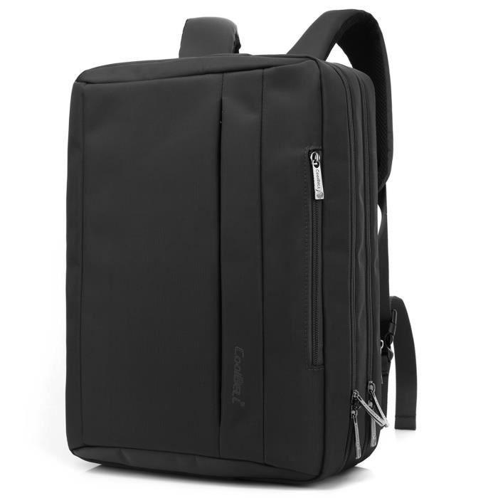 Srotek convertible sacoche sac /à dos Sac /à bandouli/ère Sac /à bandouli/ère sacoche dordinateur portable Business Briefcase Sac /à dos de voyage multifonction Sac /à main pour ordinateur portable 43,9/cm po