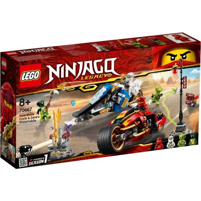 ASSEMBLAGE CONSTRUCTION LEGO® NINJAGO® 70667 nouveaute 2019- La Moto de Ka