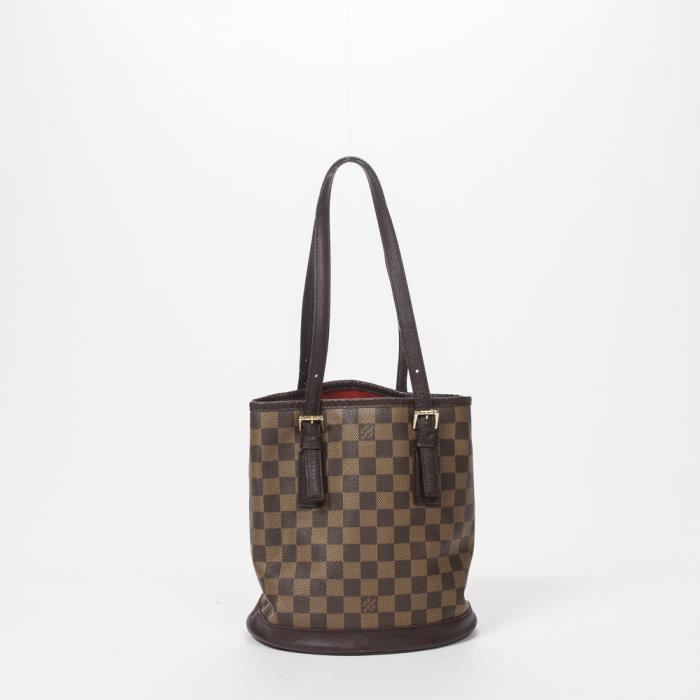 6290a0598f Louis Vuitton - Sac à main - Damier Ebene Brown - 126 - Achat ...