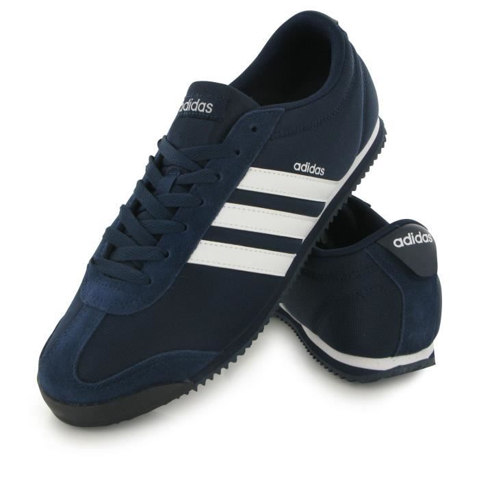 adidas neo bleu homme