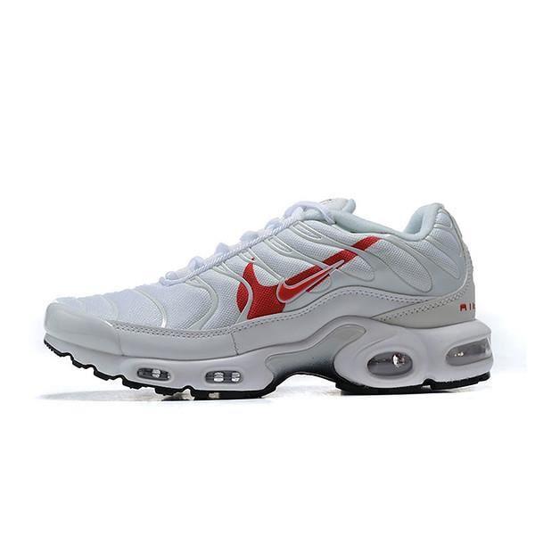 Baskets Nike Air Max TN Plus TXT Chaussures de Running Homme Blanc ...