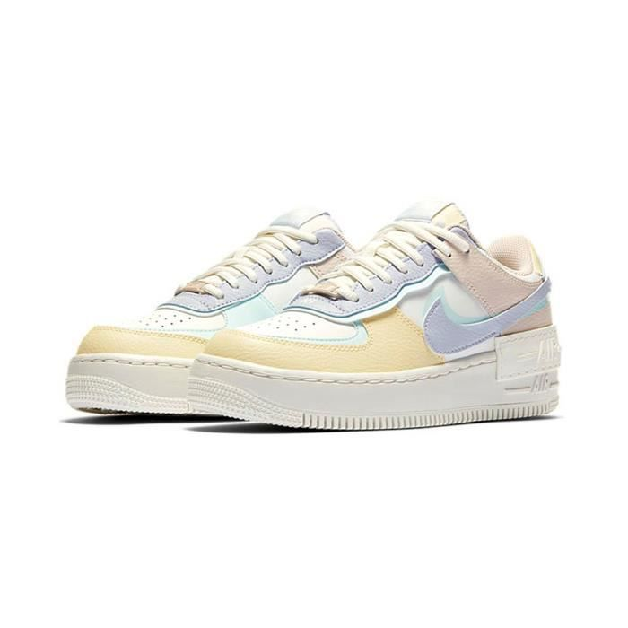 Air Force 1 Shadow AF1 Chaussures Baskets Airforce One pour Femme ...
