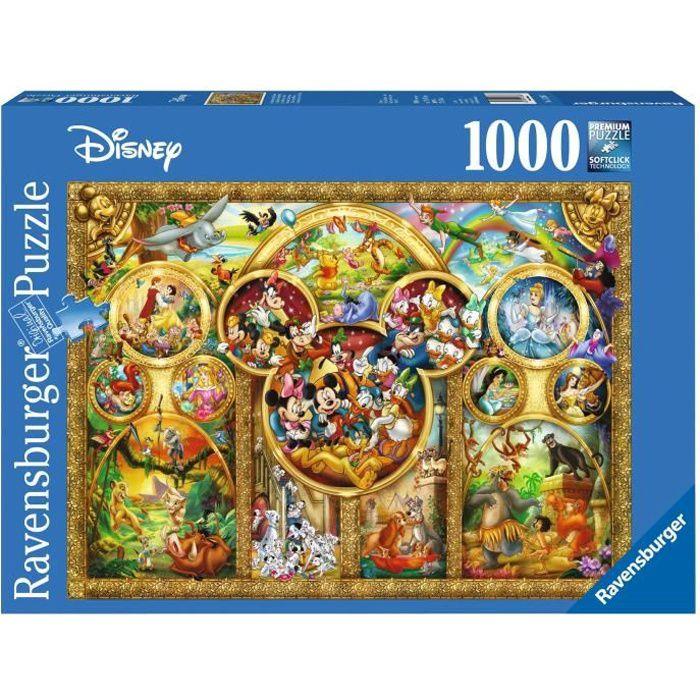 PUZZLE Puzzle 1000 pièces - Le monde magique de Disney