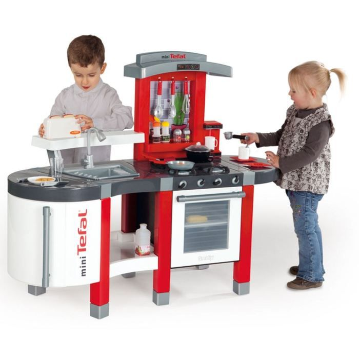 smoby cuisine enfant super chef mini tefal achat vente dinette cuisine cdiscount. Black Bedroom Furniture Sets. Home Design Ideas