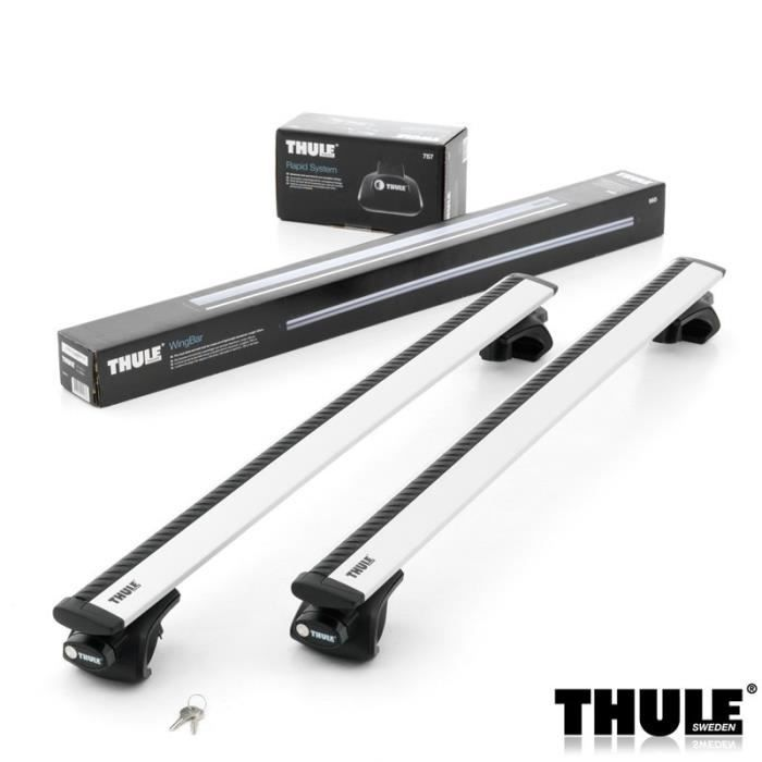 barres de toit thule wingbar 960 pour peugeot partner air 5 portes monospace de 2001 2007. Black Bedroom Furniture Sets. Home Design Ideas