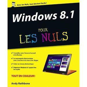 SYSTÈME D'EXPLOITATION Windows 8.1 pour les nuls
