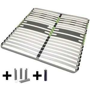 SOMMIER AltoZone - Pack Sommier 2x16 Lattes 140x190cm + Pi