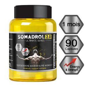 STIMULANT HORMONAUX Booster Testostérone - SOMADROL