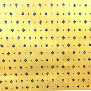 TISSU Tissu au mètre coton provençale vence jaune B all