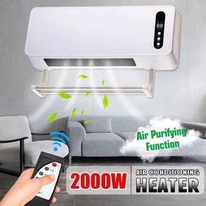 RADIATEUR D'APPOINT 220V 2000W PTC Chauffage Climatisation Electrique
