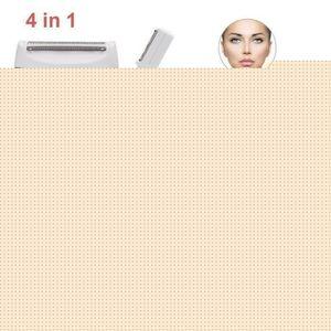 RASOIR ÉLECTRIQUE Rasoir Electrique Femme,4 en 1 Kit de la Epilation