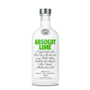 VODKA Absolut Lime - Vodka aromatisée - 40% - 70 cl